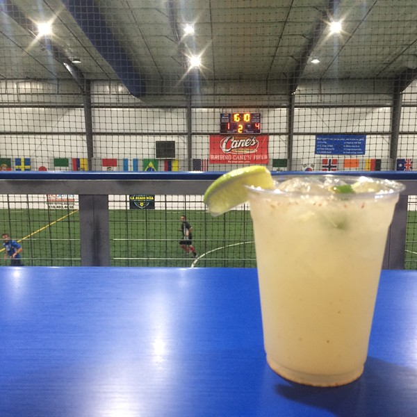 The Manuel Antonio ($7) at Upper Deck Sports Bar