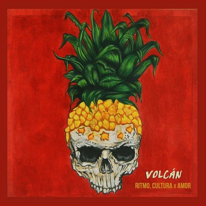 "Cover art for Volcán's ""Ritmo, Cultura x Amor"" EP - COURTESY"