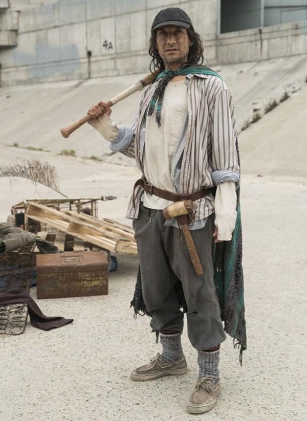 Jesse Borrego in AMC's Fear the Walking Dead - AMC