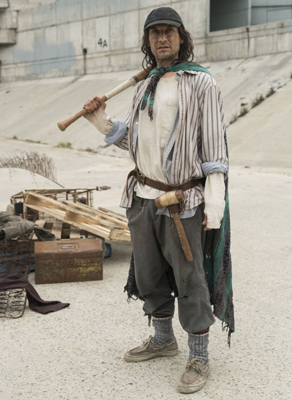 Jesse Borrego in AMC's Fear the Walking Dead - AMC