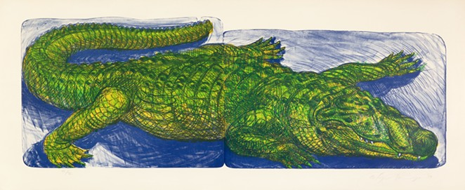 Luis A. Jiménez Jr., Alligator - COURTESY OF MCNAY ART MUSEUM