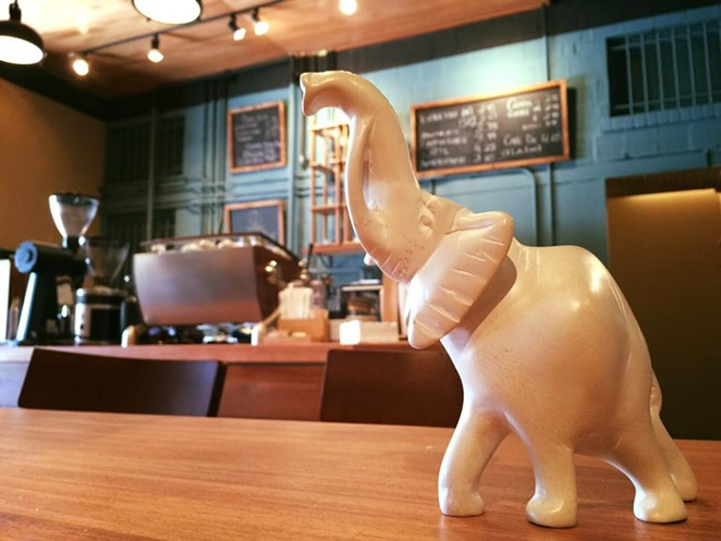FACEBOOK/WHITE ELEPHANT COFFEE CO.