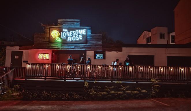 St. Mary's Strip honky tonk the Lonesome Rose has become ground zero for San Antonio's alt-county scene. - OSCAR MORENO