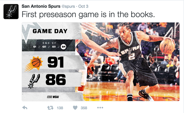 SCREENSHOT VIA @SPURS
