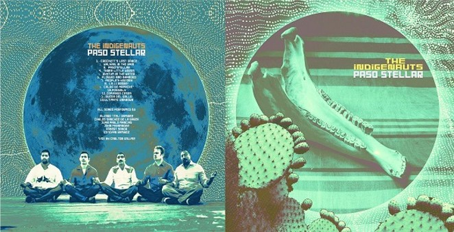 "Artwork for ""Paso Stellar,"" The Indigenauts debut LP"