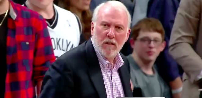 Gregg Popovich - YOUTUBE SCREENSHOT