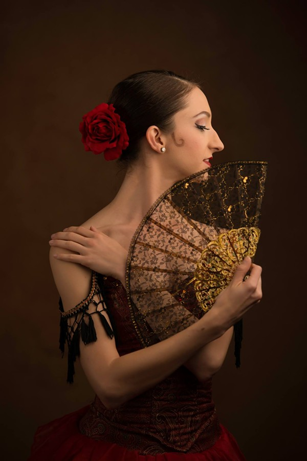 BALLET SAN ANTONIO PRINCIPAL DANCER SALLY TURKEL PHOTOGRAPHED BY ALEXANDER DEVORA