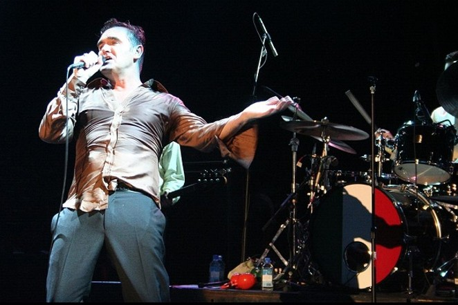 Morrissey performing at SXSW in 2006. - COURTESY