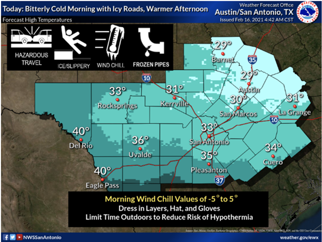 COURTESY / NATIONAL WEATHER SERVICE