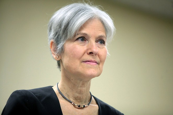 Should Jill Stein drop out? In some states, probably – that is, if she cares about the long game. - GAGE SKIDMORE VIA FLICKR CREATIVE COMMONS