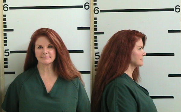 Susan Cammack is back in jail. Because Republic of Texas members can't be bothered by things like probation, obviously. - KERR COUNTY