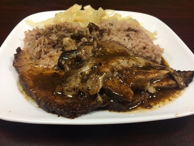 The roast pork ($9.99)