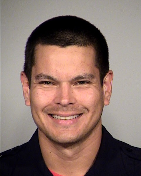 Matthew Luckhurst, a five-year veteran of the San Antonio Police Department, was fired for trying to feed a homeless person a piece of poop. - SAPD