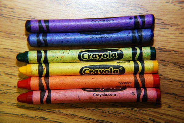 Crayons: too destructive for federal immigration authorities. - DANIELLE KELLOGG VIA FLICKR CREATIVE COMMONS