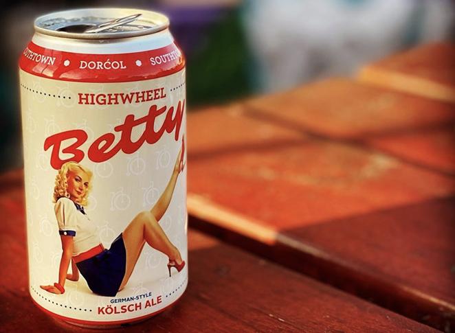 Dorćol Distilling and Brewing sued St. Elmo Brewing in federal court this week for trademark infringement related to Dorćol's HighWheel Betty Kölsch. - INSTAGRAM /  DORCOLSPIRITS