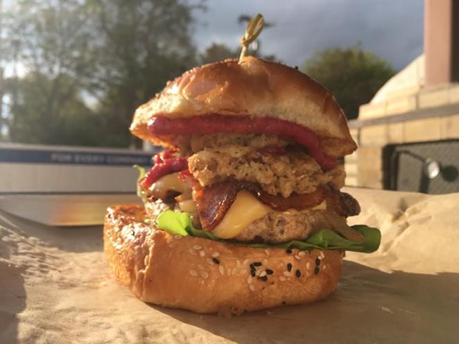 Hawx Holiday Burger -  FACEBOOK/HAWX BURGER BAR