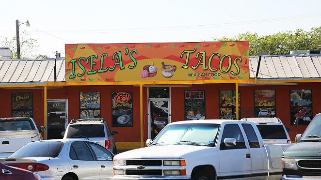 Isela's Tacos has some really good tortillas. - BEN OLIVO