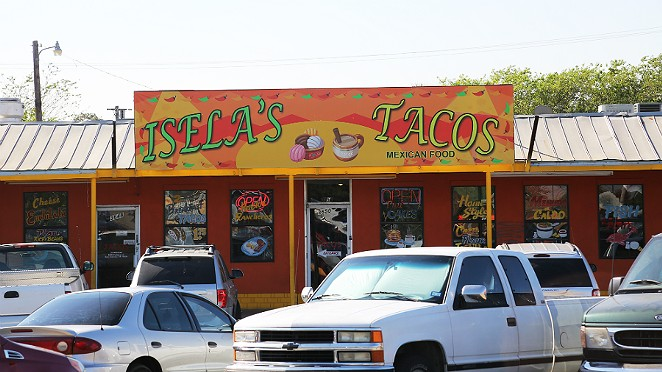 Isela's Tacos has some really good tortillas. - BEN OLIVO