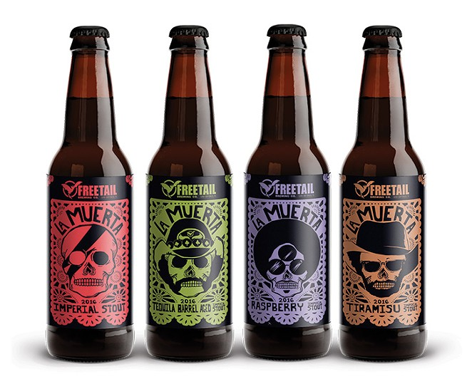 La Muerta, Freetail Brewing Co. - COURTESY