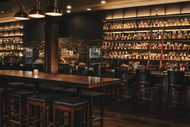 The interior of the newly opened Rock and Rye will seat 50 people. - INSTAGRAM / ROCKANDRYEBAR