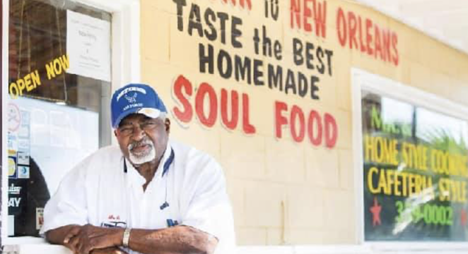 William Garner Sr., 1938-2021, was an Alabama native who opened a soul food restaurant on San Antonio's East Side. - FACEBOOK / MR. & MRS. G'S HOME COOKING AND PASTRIES