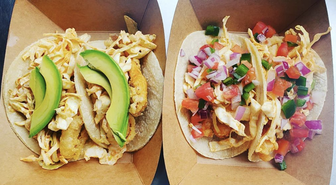 Fish Lonja serves up fresh fish tacos and tostadas topped with fish, shrimp or octopus. - INSTAGRAM / CARNITAS_LONJA