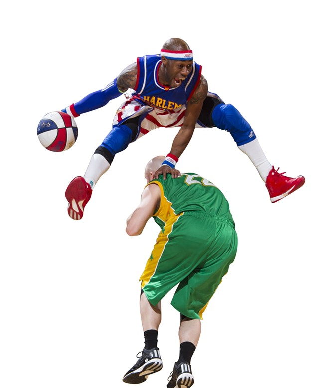 COURTESY OF THE HARLEM GLOBETROTTERS