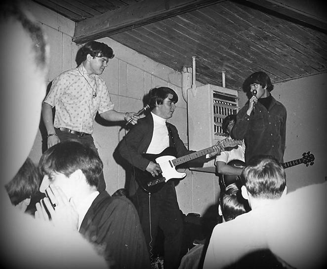 San Antonio garage rock band The Outcasts rock the Teen Canteen. - COURTESY OF JIM RYAN