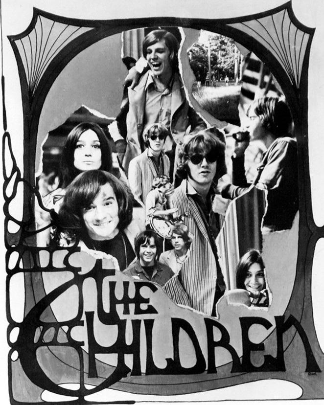 The Children were one of the bands representing the evolution of the psych era. - COURTESY OF SAM KINSEY TEEN CANTEEN COLLECTION