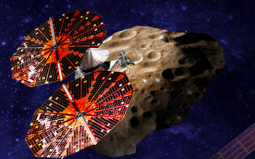 Lucy in the sky with asteroids. - SWRI