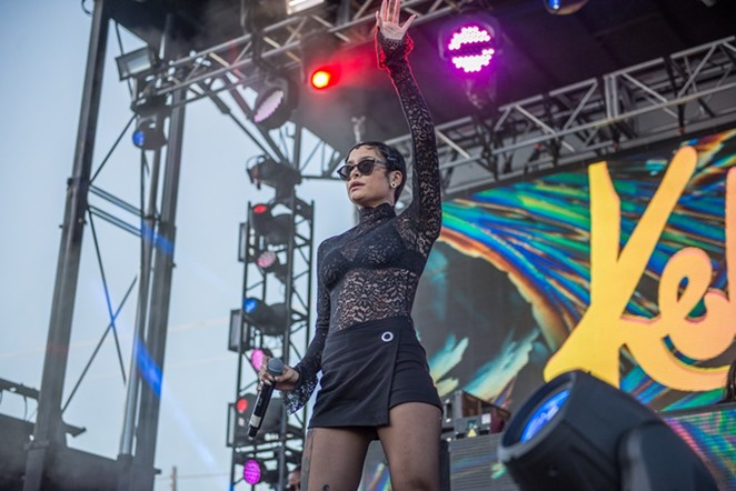 Kehlani at the Mala Luna Music Festival - JAIME MONZON