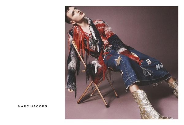 MILK PHOTOGRAPHED BY DAVID SIMS FOR THE MARC JACOBS SS16 CAMPAIGN