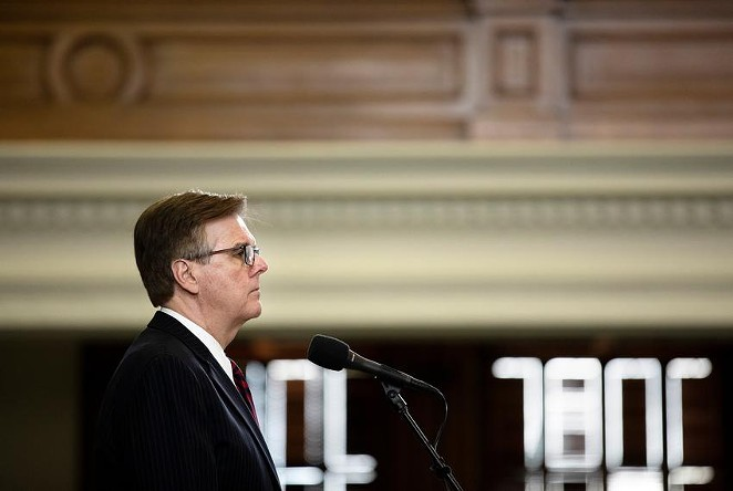Lt. Gov. Dan Patrick has knocked down rumors of a gubernatorial race several times, and has also said he wants to run for another term as lieutenant governor. - MIGUEL GUTIERREZ JR. / THE TEXAS TRIBUNE