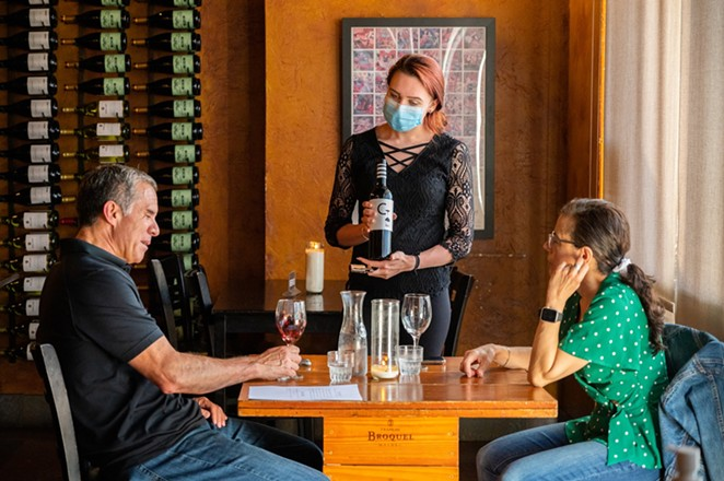 Copa Wine Bar and Tasting Room will serve a special one-night only Spring Fling dinner. - COURTESY COPA WINE BAR