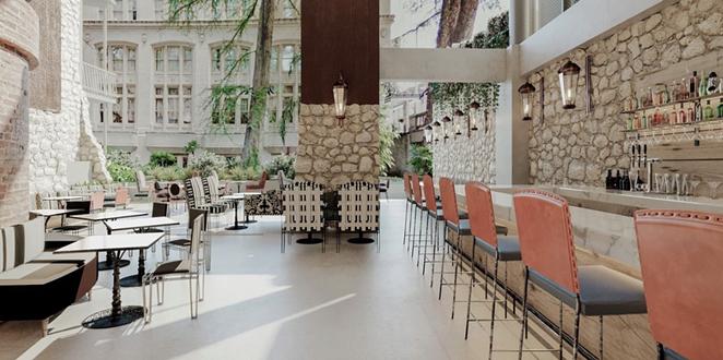 Domingo Restaurant at Canopy by Hilton San Antonio Riverwalk will open next month. - INSTAGRAM /  CANOPYSATX