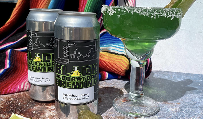 Black Laboratory Brewing is offering their St. Patty-approved Leprechaun Blood beer for the holiday. - FACEBOOK / BLACK LABORATORY BREWING