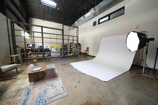 Pearl Studio is fully equipped for photo and video shoots. - COURTESY OF PEARL STUDIO