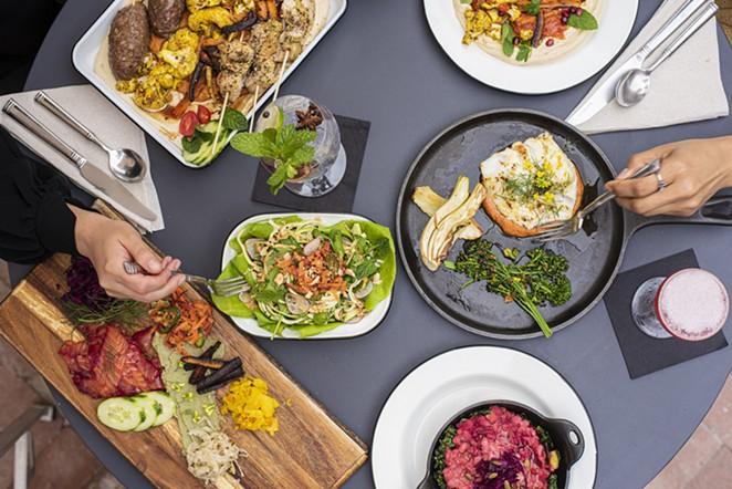 Chef Elizabeth Johnson's plant-forward restaurant, Pharm Table, will open March 23. - PHOTO COURTESY PHARM TABLE