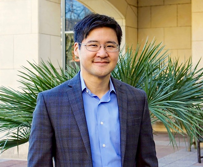 UTSA Assistant Chemistry Professor Francis Yoshimoto is receiving recognition for his COVID-19 research. - COURTESY / UNIVERSITY OF TEXAS AT SAN ANTONIO