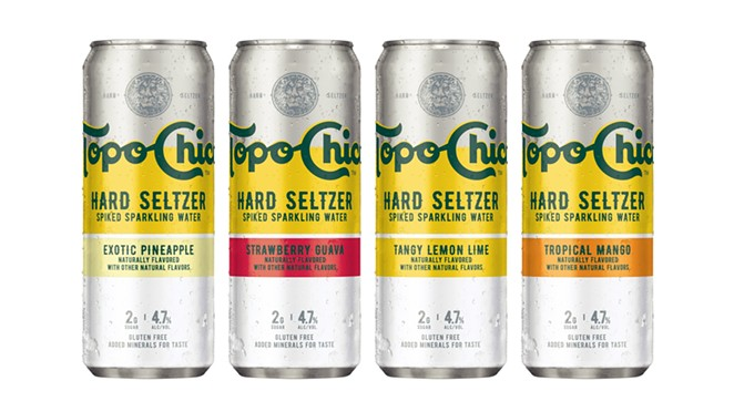 Texas cult phenomenon Topo Chico will launch its hard seltzer line in Texas this month. - PHOTO COURTESY OF TOPO CHICO