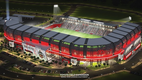 Major League Soccer isn't coming unless Toyota Field expands. Who's going to pay for that? - COURTESY SAN ANTONIO SCORPIONS