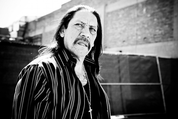 Actor Danny Trejo, 72, will be the keynote speaker at Alpha Home's 11th Annual Doorways of Hope luncheon Feb. 23. - PHOTO COURTESY OF L.A. WEEKLY