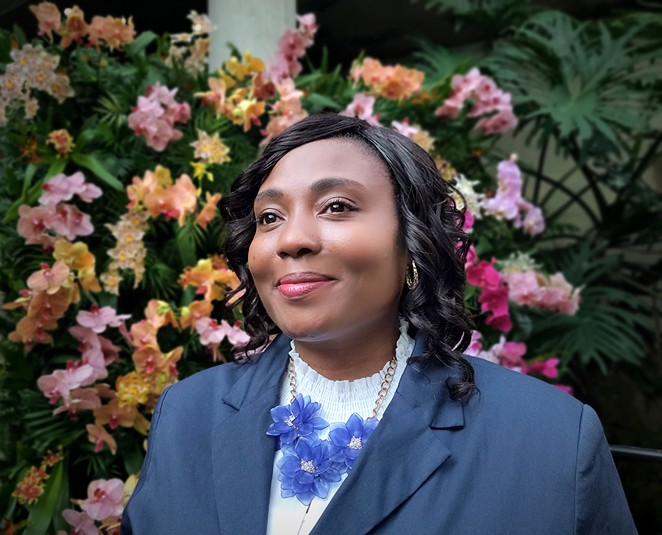 Jada Andrews-Sullivan is running for a second term to represent District 2 on City Council. - JADE ESTEBAN ESTRADA