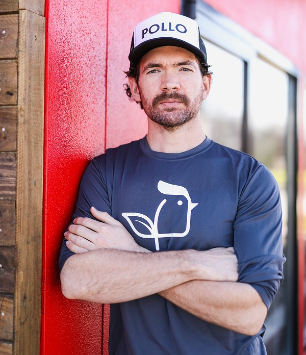 Project Pollo proprietor Lucas Bradbury dishes on his plans to expand his vegan restaurant chain. - COURTESY OF PROJECT POLLO