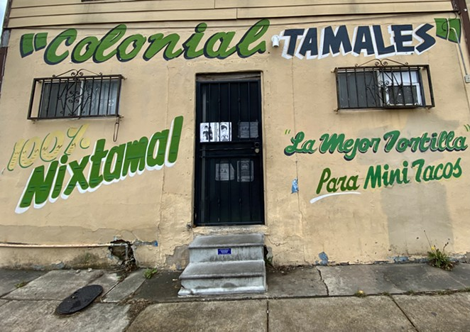 San Antonio Colonial Tortilla Factory is located off Guadalupe Street on the West Side. - RON BECHTOL