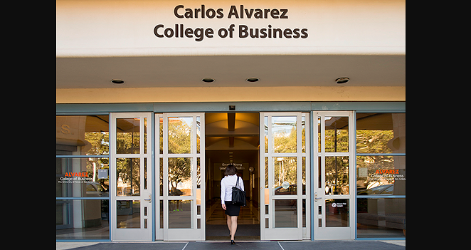 The Carlos Alvarez College of Business will be the first named school at UTSA. - COURTESY PHOTO / UTSA