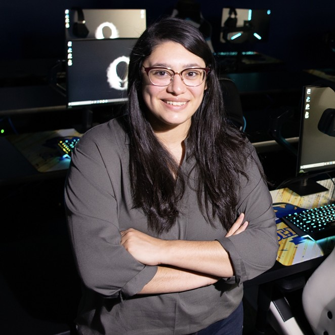 Kaitlin Teniente serves as head coach for St. Mary's college esports program. - COURTESY OF ST. MARY'S UNIVERSITY