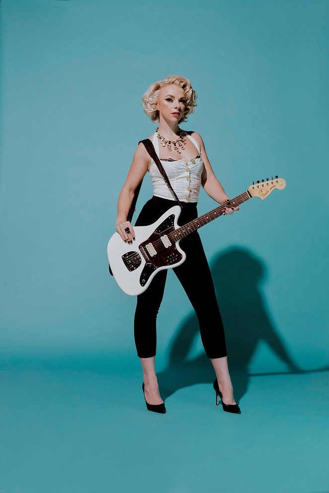 Samantha Fish is playing two shows at Sam's Burger Joint on Thursday. - COURTESY OF SAMANTHA FISH