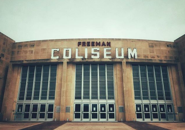 Some 2,400 minors will be temporarily housed at Freeman Coliseum under a deal reached by Bexar County and the Biden Administration. - INSTAGRAM / JUSTINCPRESS