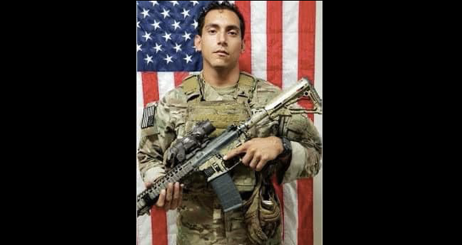 Spc. James A. Requenez was 28 years old. - FACEBOOK / AIRBORNE AND RANGER TRAINING BRIGADE